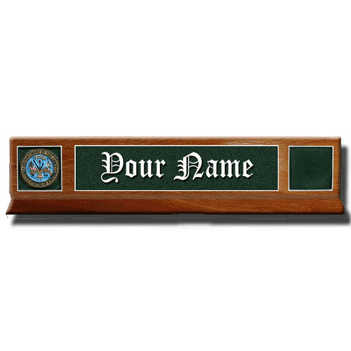 Army Desk Nameplates