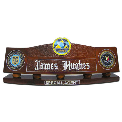 FBI Desk Nameplates