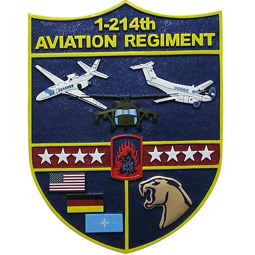 1-214th Aviation Regiment Emblem