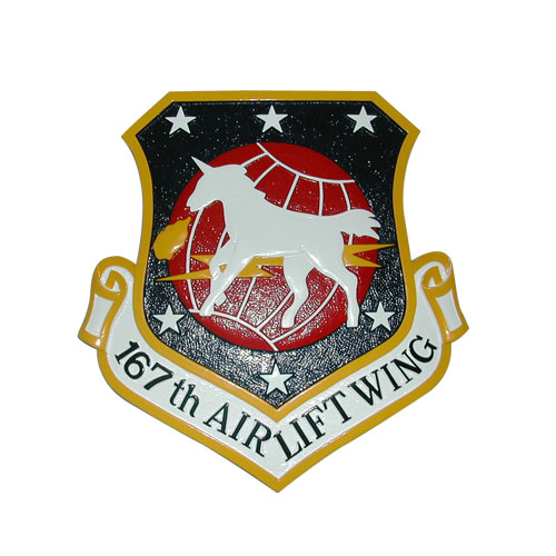 167th Airlift Wing Emblem