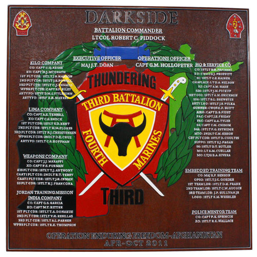 Dark Side Deployment Plaque