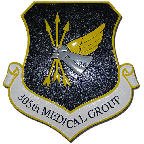 305th Medical Group Emblem