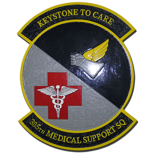 305th Medical Support Squadron Emblem