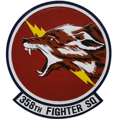 358th Fighter SQ Emblem