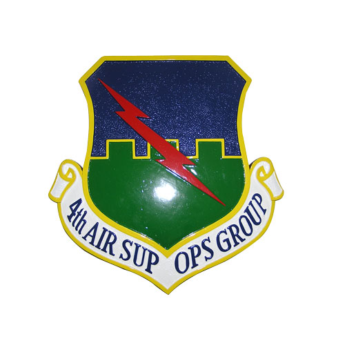 4th Air Sup OPS Group Emblem