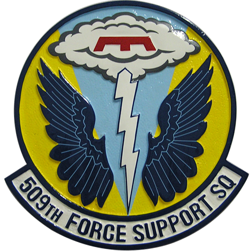 509th Force Support SQ Emblem