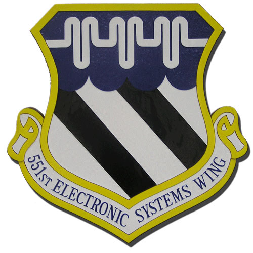 551st Electronic Systems Wing Emblem