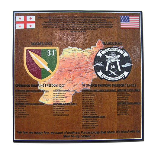 5th Anglico Deployment Plaque