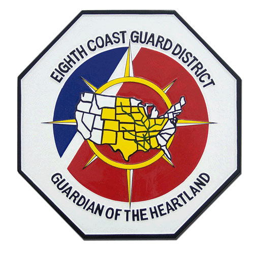 8th Coast Guard District Emblem