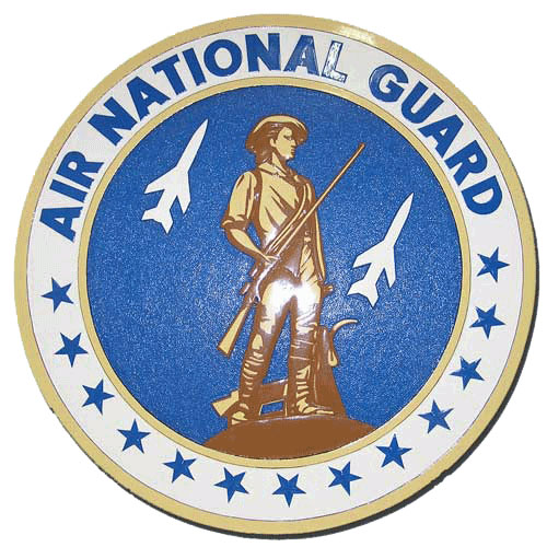 Air National Guard Seal Plaque