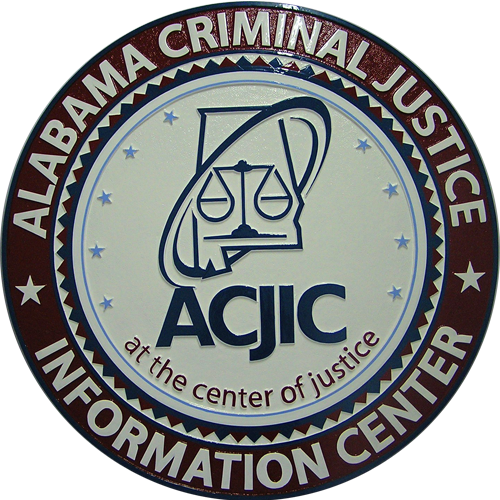 Alabama Criminal Justice Seal