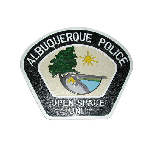 Albuquerque Police Patch Plaque
