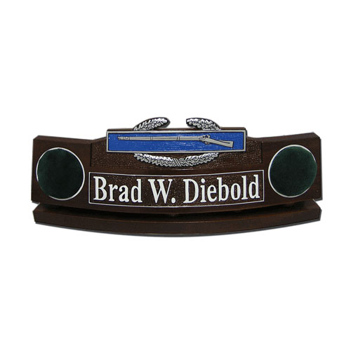 Army Combat Infantryman Badge  Desk Nameplate