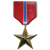 Bronze Star Plaque