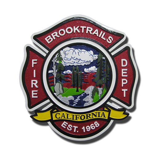 Brooktrails Fire-Department Seal