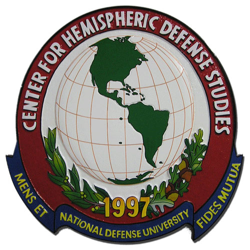 Center for Hemispheric Defense Studies CHDS Seal