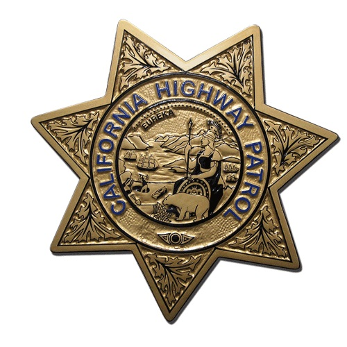 Californa Highway Patrol Badge Plaque