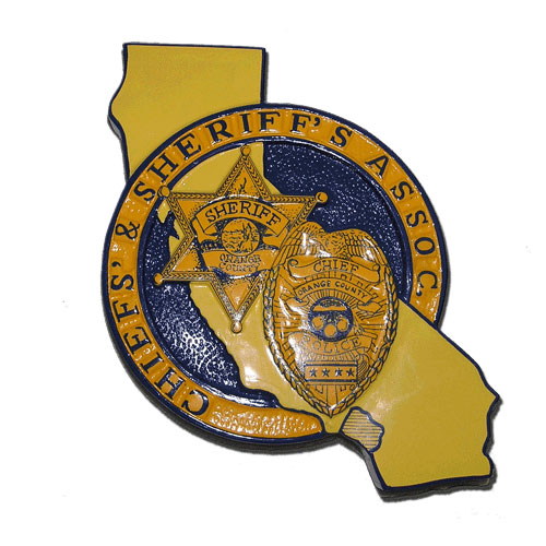 Chiefs and Sheriffs Association Seal