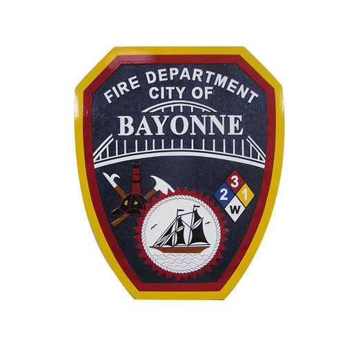 City of Bayonne Fire Dept Emblem