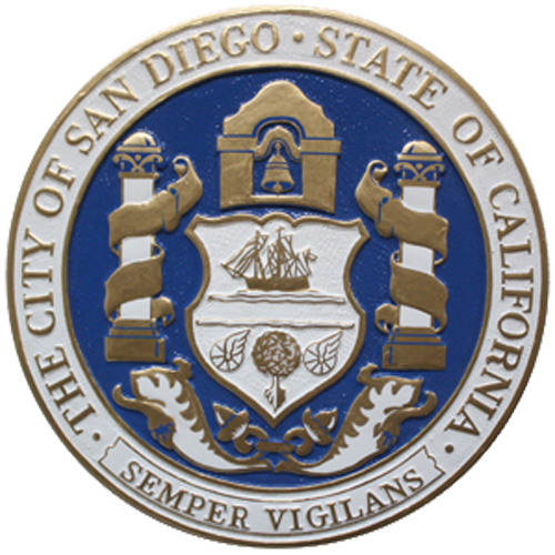 City of San Diego CA Seal