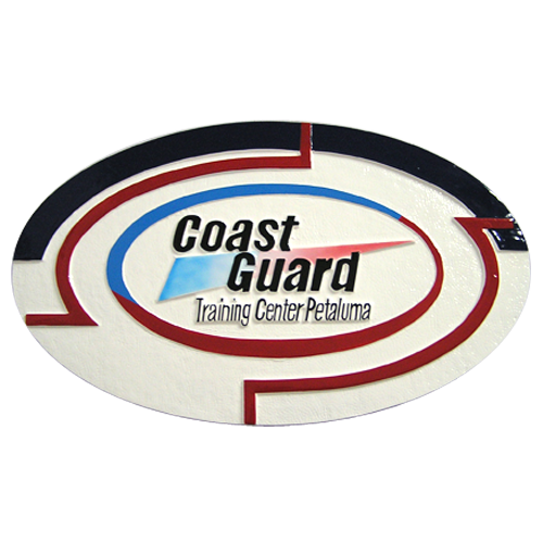 Coast Guard Training Center Petaluma Emblem