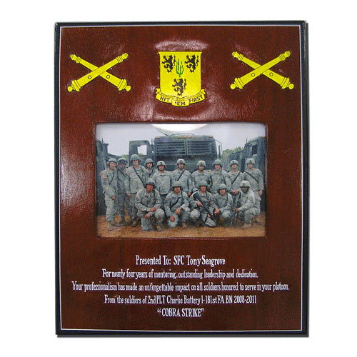 Cobra Strike Presentation Plaque