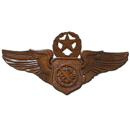 Command Air Battle Manager Wings Insignia Plaque