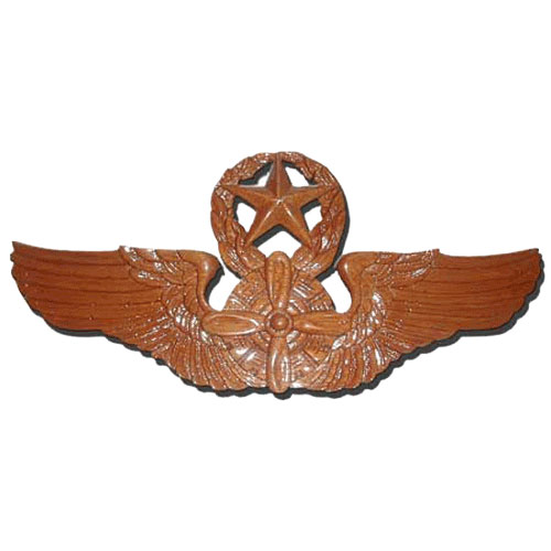 Command Flight Engineer Wings Insignia Plaque