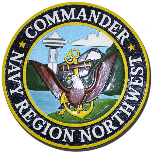 Commander Navy Region Northwest Seal