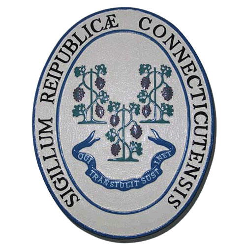 Connecticut State Seal Plaque