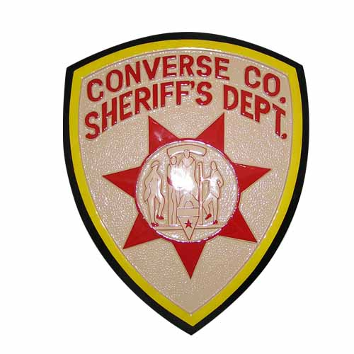 Converse Sheriff's Department Emblem
