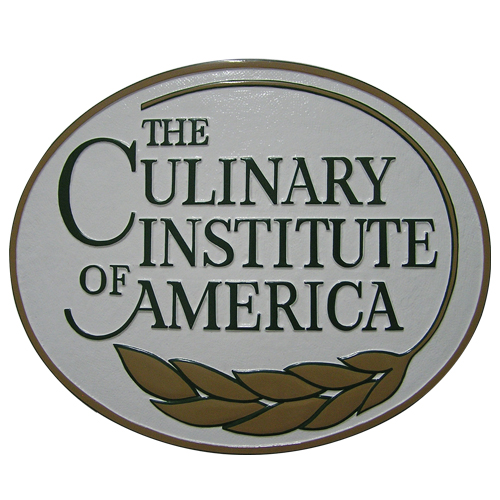 The Culinary Institute of America Plaque