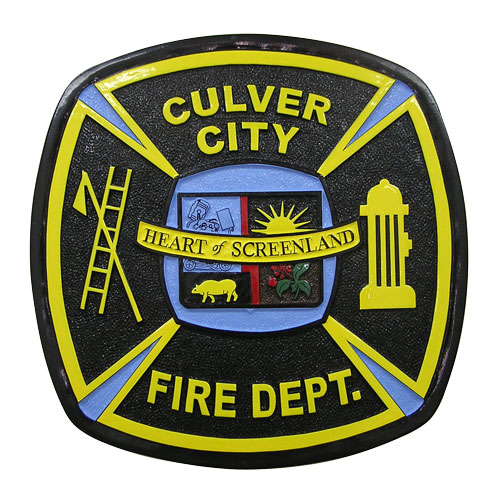 Culver City Fire Department Patch Emblem