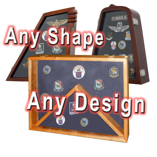 Custom Award Display Case