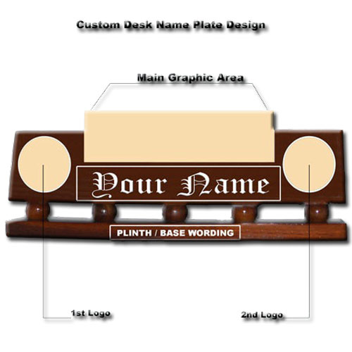 Custom Desk Nameplate