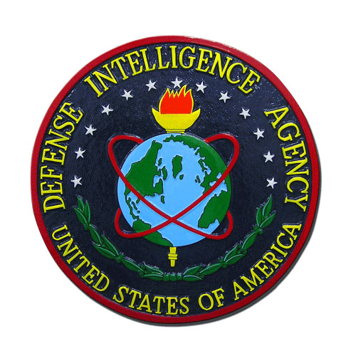 US Defense Intelligence Agency DIA Seal / Podium Plaque