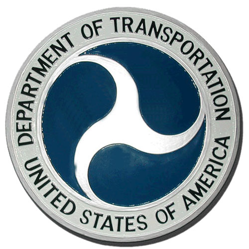 Department of Transportation DoT Seal / Podium Plaque