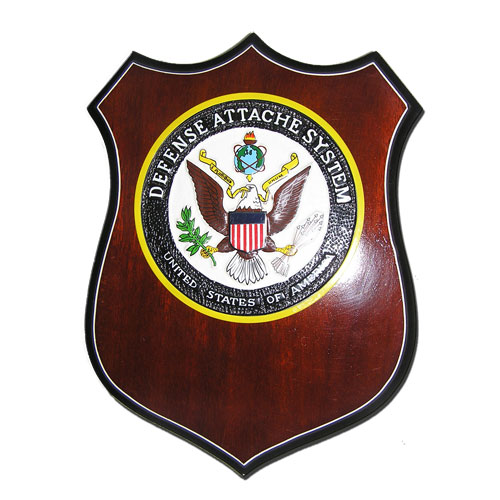 Defense Attache System Plaque