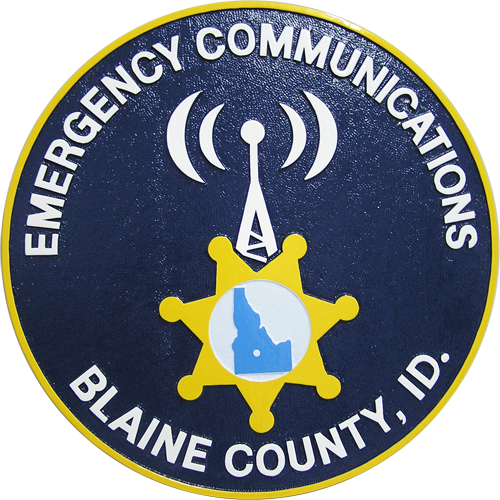 Emergency Communications Blaine County Seal