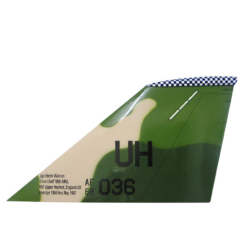 F1-11S Tail Flash Wall Plaque