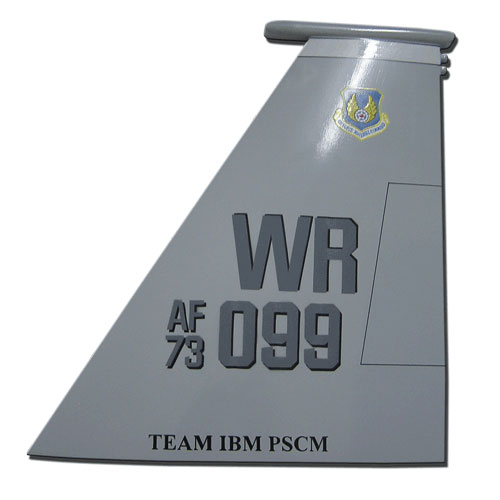 F15E-WR 099 Tail Flash Wall Plaque