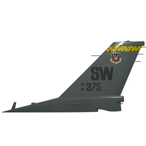 F16 - AF375 SW Tail Flash Wall Plaque