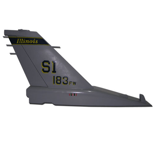 F16-SI 183 FW Tail Flash Wall Plaque