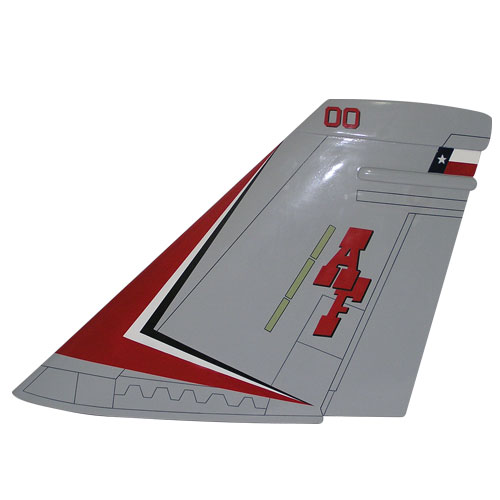 F18 AF Tail Flash Wall Plaque