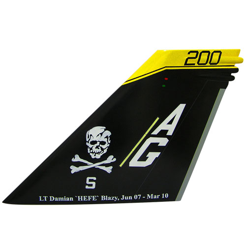 F18F Tail Flash Wall Plaque