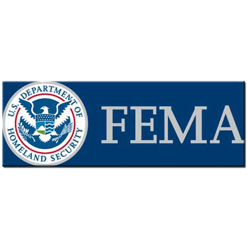 Federal Emergency Management Agency FEMA Seal Plaque