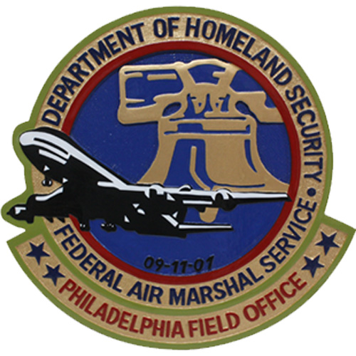 Federal Air Marshall Service Philadelphia Emblem