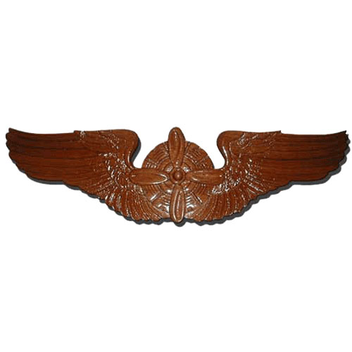 Flight Engineer Wings Insignia Plaque