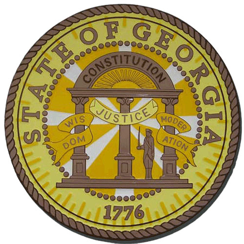 Georgia State Seal Plaque