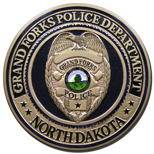 Grand Forks Police Department Seal Plaque
